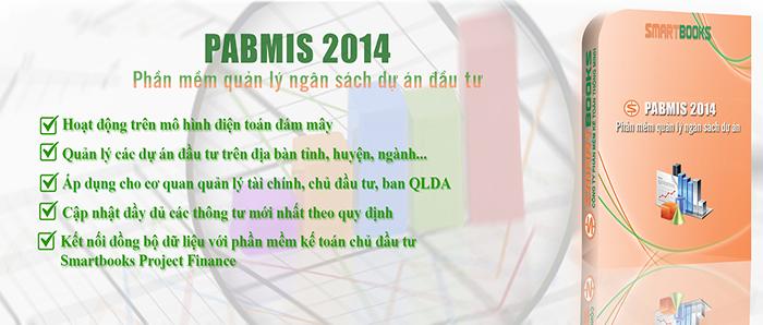 Phần mềm quản lý ngân sách dự án PABMIS
