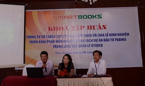 PABMIS thu hút được nhiều tỉnh quan tâm trong hội thảo tại Nha Trang