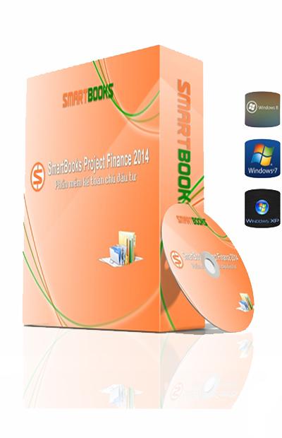 Phần mềm kế toán chủ đầu tư SmartBooks Project Finance 2016